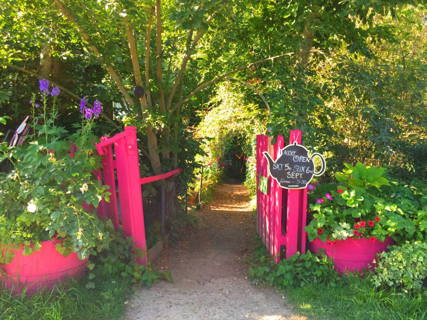 Jane's Enchanted Tea Garden: where fairy tale meets reality.