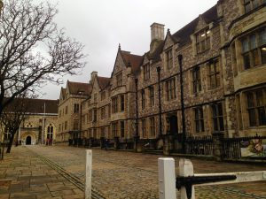 Great Hall outside