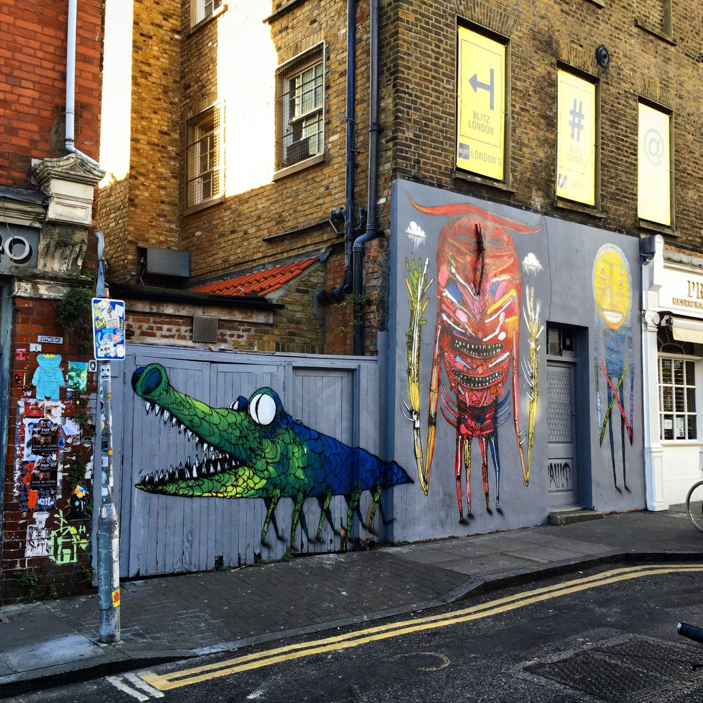 Swooping around Shoreditch: The Grey Poncho