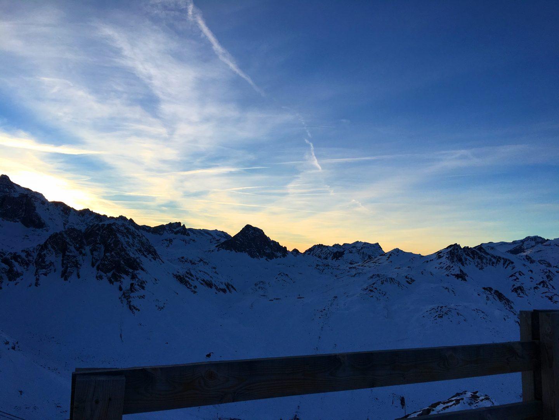 mountains-sunset
